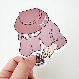 LB030 Poshmark Thank You Stickers [Price Firm]